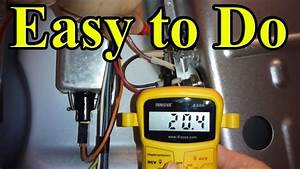 How To Fix Your Gas Dryer That Is Not Heating Up  Part 1 Rear Panel