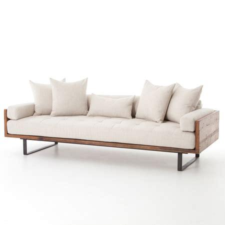 Sofa Industrial by Ranger Industrial Loft Reclaimed Wood Sofa Zin Home