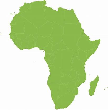 Continent African Africa Map Shape Clip Vector