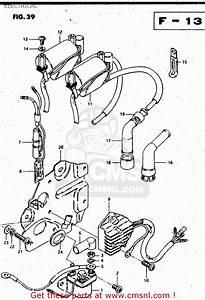 Suzuki Gs450l 1981  X   E02 E15 E21 E22 E24 E25 E39