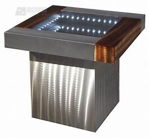 Nova Lighting IFET2222B Square Infinity Contemporary End