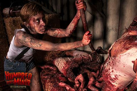 Haunted Attractions In Nj And Pa by Hundred Acres Manor Haunted House Frightfind