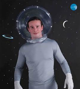 Adult Space Helmet Fish Bowl Nasa Astronaut Hat Mask ...
