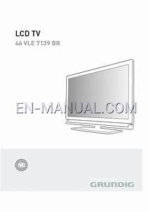 User U0026 39 S Manual For Flat Panel Tv Grundig Lcd Tv 46 Vle 7139