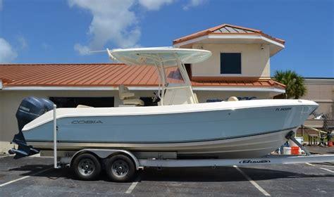 used 2015 cobia 256 center console boat for sale in vero fl k002 new used boat