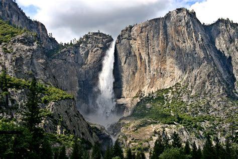 Yosemite Falls From Sentinel Meadow