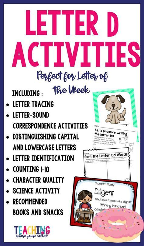 letter dd activity pack  images phonics