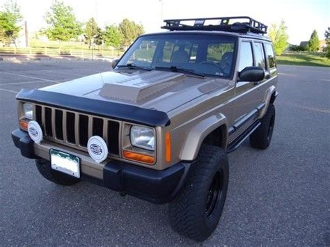 supercharged jeep cherokee purchase used supercharged 1999 jeep cherokee sport xj 4x4