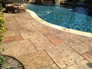 Best Way To Finish A Deck by Esr Decorative Concrete Experts