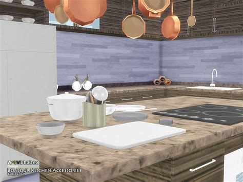 where to buy kitchen accessories bonjour kitchen accessories by artvitalex at tsr 187 sims 4 1715