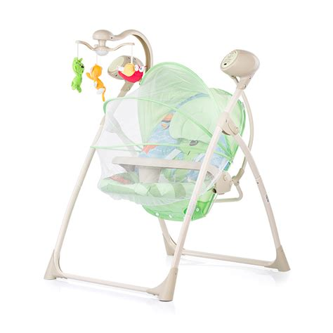swing electric electric baby swing and bouncer chipolino tropicana