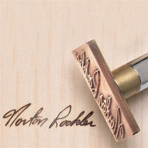 Signature Branding Iron  Electrically Heated Rockler
