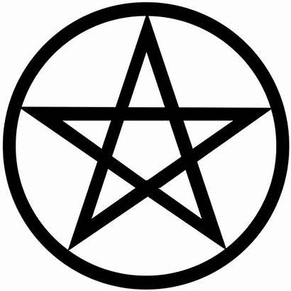 Pentagram Symbol Modern Emblem Headstone Exactly Usva