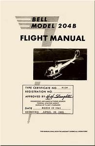 Bell Helicopter 204 B Flight Manual