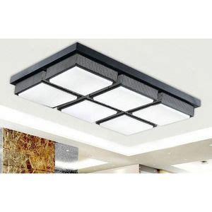rectangular kitchen light fixtures affordable rectangular acrylic shade 28 7 inch led 4542