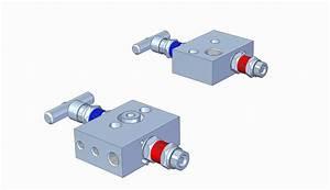 Mp21d 2-valve Manifold - 2-valve Manifolds
