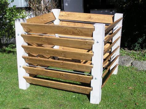 Komposter Selber Bauen Holz by Kompostbeh 228 Lter Betonwerk Scholz Wasserbeh 228 Lter Tr 246 Ge