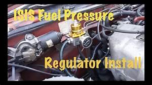 Isis Fuel Pressure Regulator Install