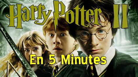 harry potter et la chambre des secrets harry potter et la chambre des secrets en 5 min