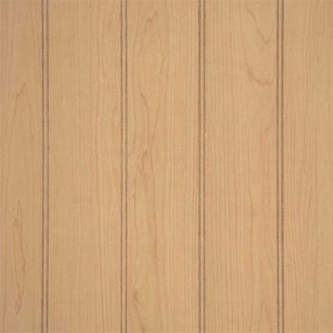 Wainscoting Panels Menards by American Pacific 32 Quot X 48 Quot Ultra Maple Plywood Wainscot Panel