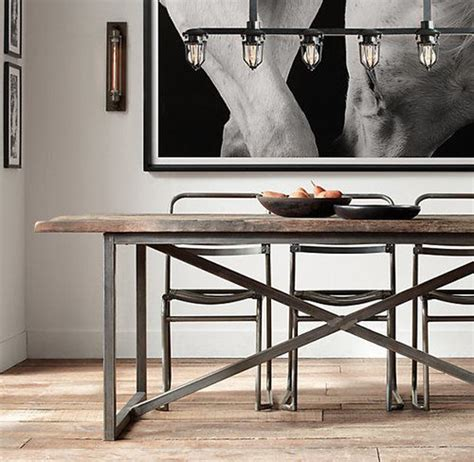 industrial looking dining room tables 25 industrial dining room with masculine interiors home