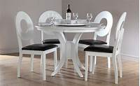 white kitchen table and chairs White Round Kitchen Table and Chairs - Decor IdeasDecor Ideas