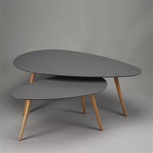 Table Gigogne Scandinave : tables basses gigognes design zendart design ~ Teatrodelosmanantiales.com Idées de Décoration