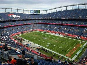 Empower Field At Mile High Stadium Section 502 Home Of