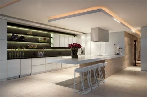 eclairage cuisine plafond 38 idées originales d 39 éclairage indirect led pour le plafond