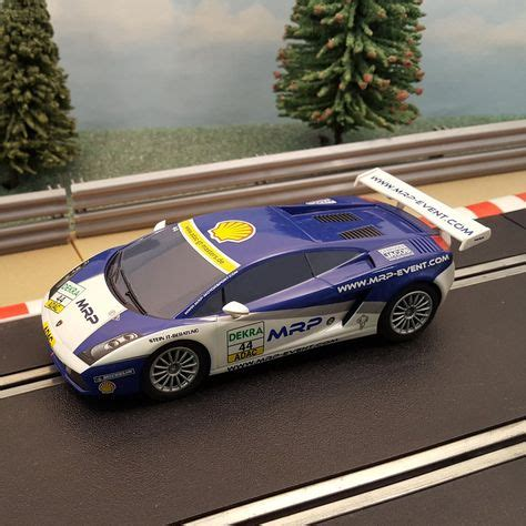 Scalextric 1:32 Car - C3135 Lamborghini Gallardo MRP #44 #B in 2020   Lamborghini gallardo ...