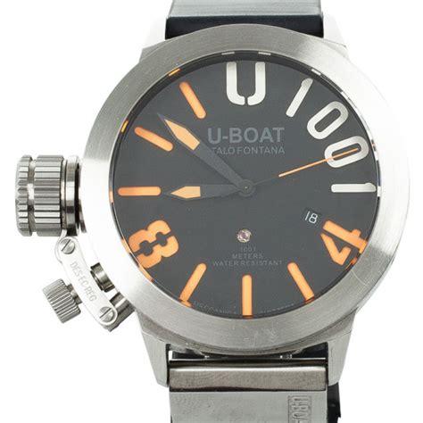 Change Time On U Boat Watch by U Boat Italo Fontana U1001 Limited Edition Mens Wristwatch