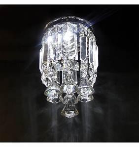Plafonnier Design Led : plafonnier cristal led design chic ice ~ Melissatoandfro.com Idées de Décoration