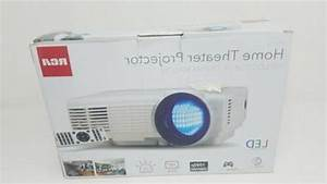 Rca Home Theater Projector Rpj116 With Led Projecti