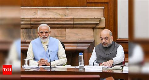 PM Modi forms two Cabinet panels to spur investment and ...