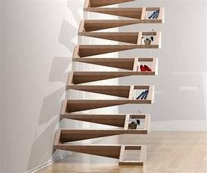 Treppe Mit Stauraum : die besten 25 stauraum unter der treppe ideen auf ~ Michelbontemps.com Haus und Dekorationen