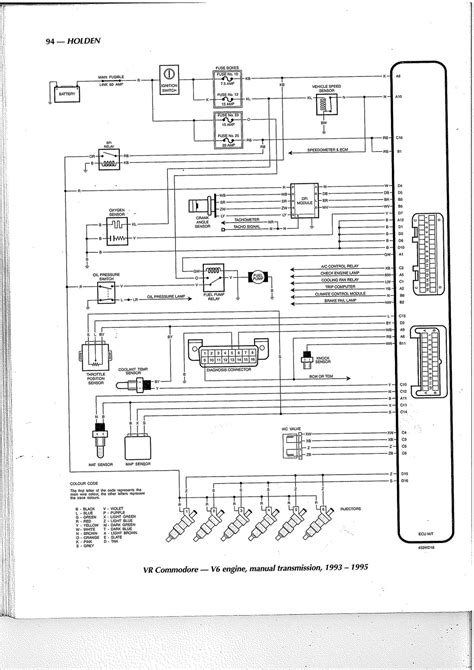 holden vr wiring diagram vr iv just done an auto to manual convertion vr commodore iv replaced the computer to manual and