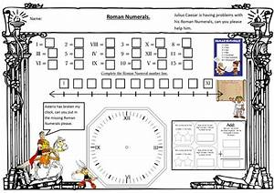 Roman Numerals Chart For Kids Roman Numeral Maths Math Fractions Worksheets Fractions