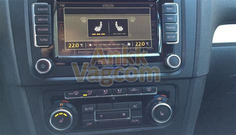 siege golf 5 golf 6 5k mémoire siège chauffant conducteur ankk vagcom