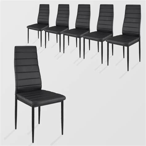 lot de chaise salle a manger lot de 6 chaises salle a manger achat vente lot de 6