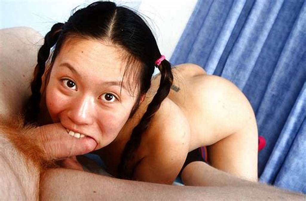 #Lecherous #Asian #Teen #With #Pigtails #Gets #Her #Shaved #Cunt