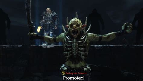 middle earth shadow  mordor trailer introduces  orc