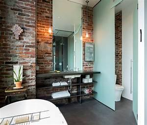 Salle De Bain Style Industriel : urban loft industriel salle de bain seattle par ~ Dailycaller-alerts.com Idées de Décoration