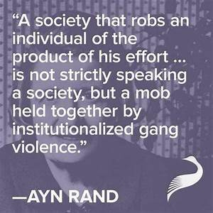 Ayn Rand quotes about Life and Capitalism