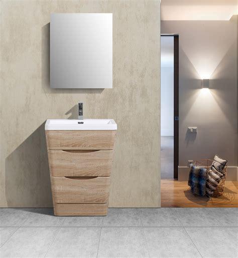 Bathroom Vanity Oak by Eviva 25 Inch White Oak Modern Bathroom Vanity