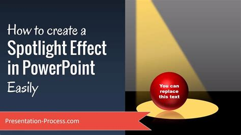 How To Create Spotlight Effect In Powerpoint Easily Youtube