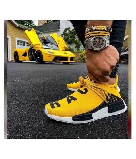 adidas  human race yellow basketball shoes buy adidas  human race yellow basketball