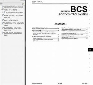 Nissan Versa 2009 Service Manual Pdf