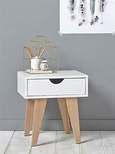 Table De Chevet Blanche Ikea : table de chevet maison vetement et d co cyrillus ~ Nature-et-papiers.com Idées de Décoration