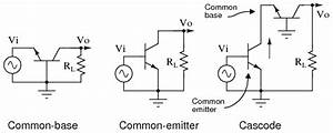 the cascode amplifier bipolar junction transistors With jfet bipolar cascode circuit diagram