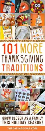 101 more thanksgiving traditions the dating divas